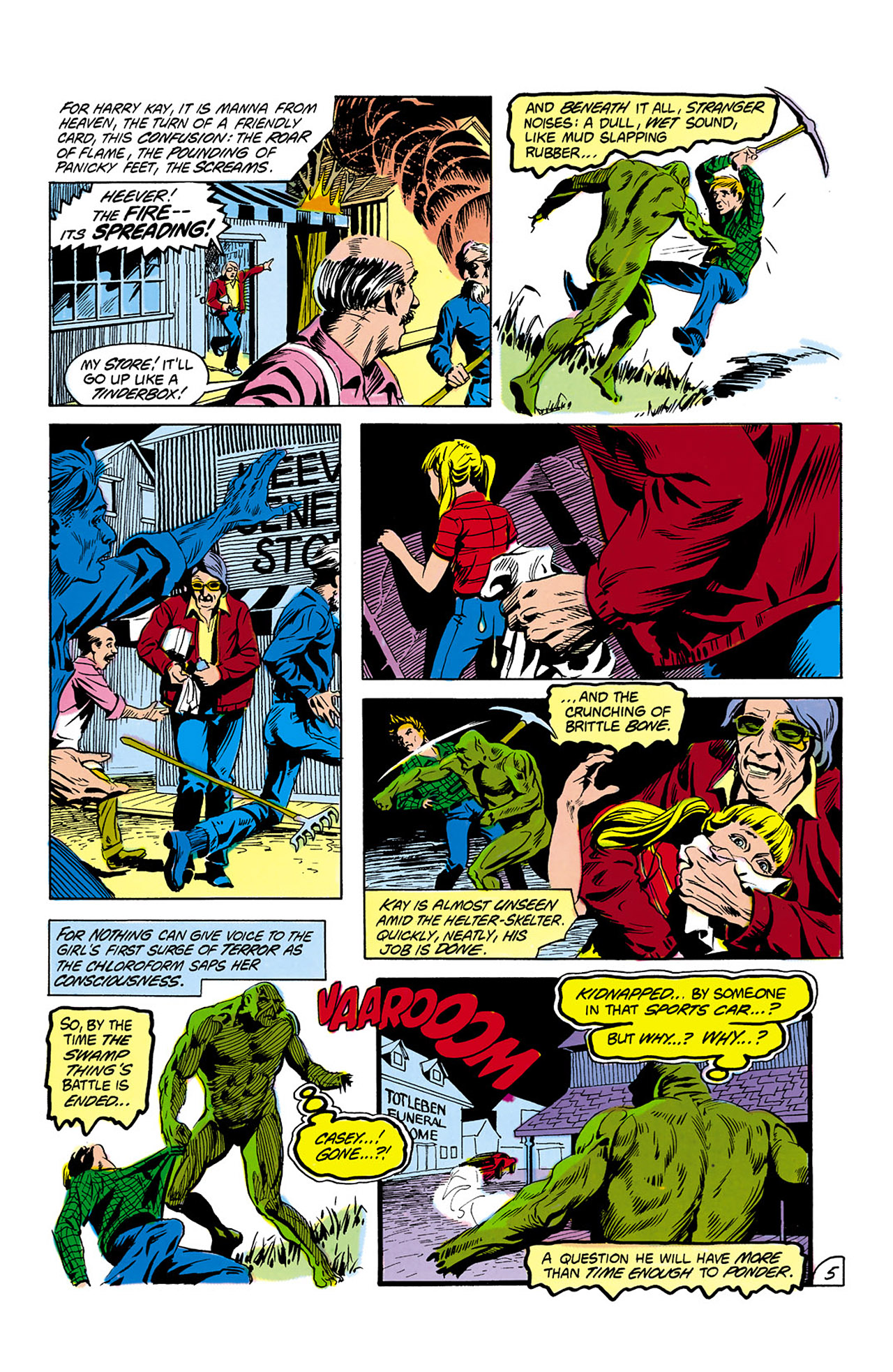 Swamp Thing (1982) Issue #2 #10 - English 6