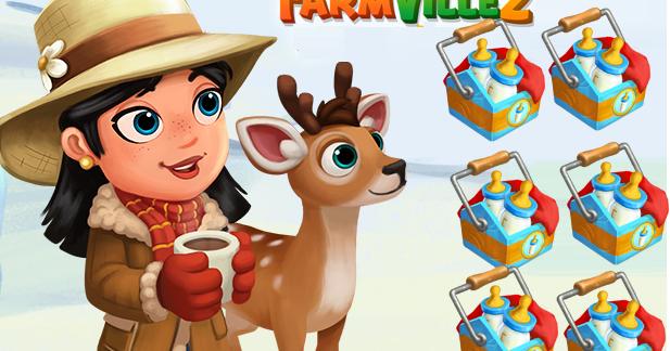 FV 2 Baby Bottle Pack (FREE GIFT) - Farmville 2 Free Gift