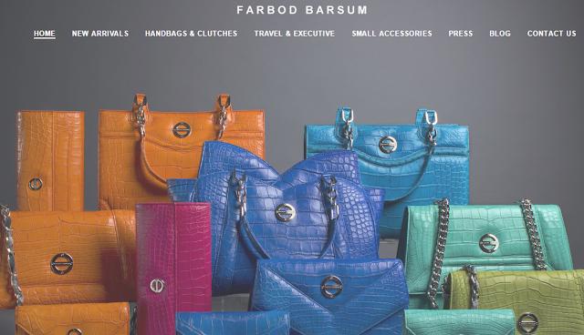 exotic bags Farbod Barsum