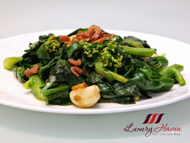 chinese stir fry kale with oyster sauce hebe
