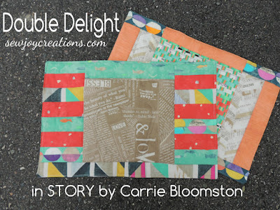 Double Delight placemats in Story