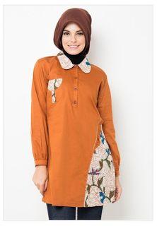 Model Baju Batik Muslim