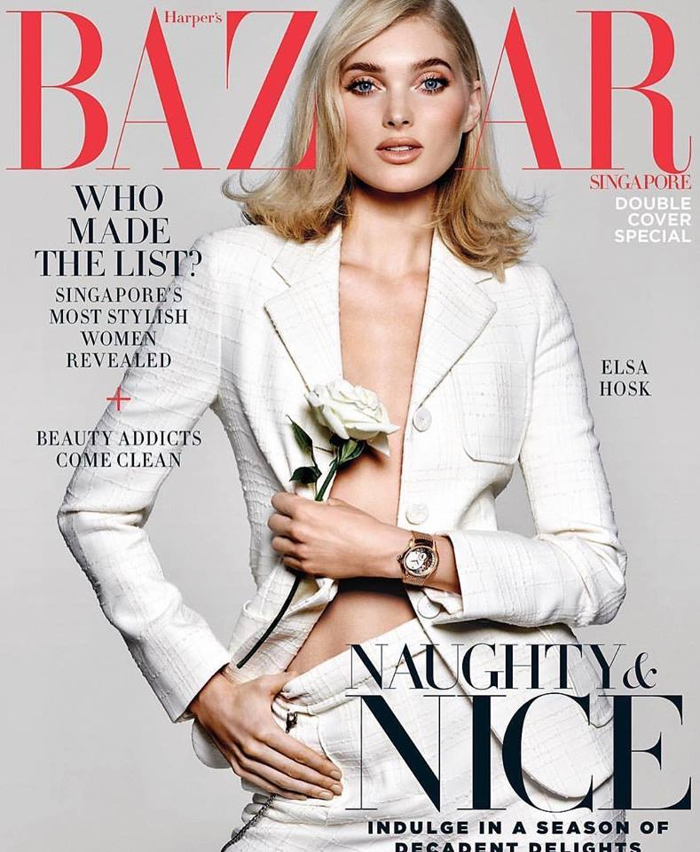 Lais Ribeiro and Elsa Hosk are photographed by Yu Tsai for the covers