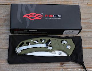 Ganzo Firebird FB7631 with ball bearings