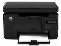 HP LaserJet Pro MFP M125nw Printer Driver Downloads