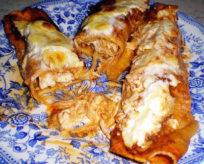 enchiladas rojas de pollo cocina receta gastronomia mexicana aves tortitas chiles