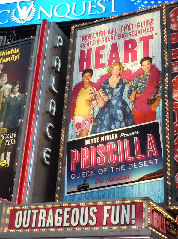 Priscilla Musical billboard NYC