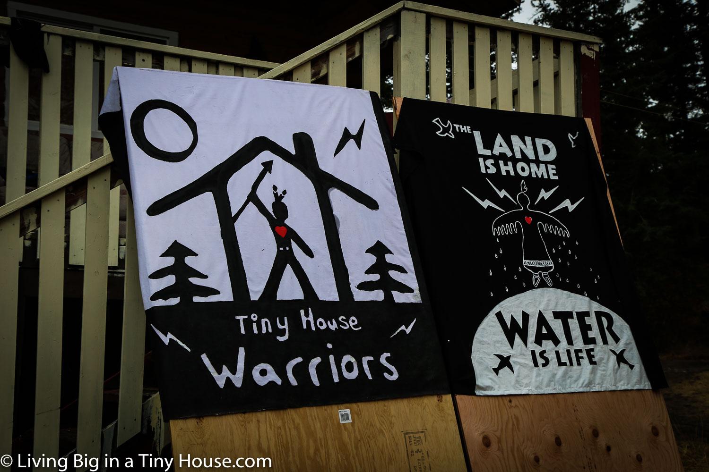 Censored News Secwepemc Tiny House Warriors Build To