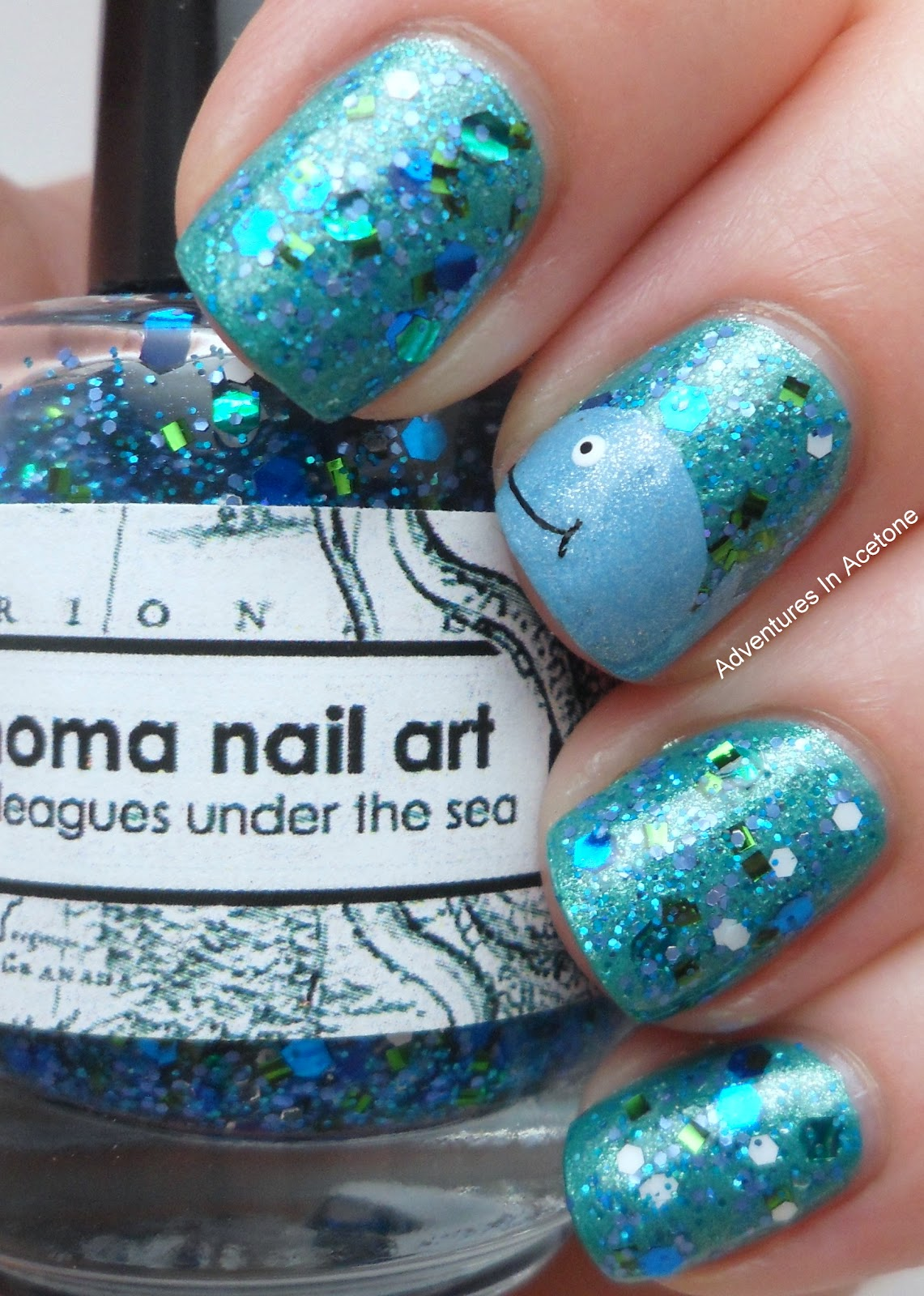 Whale Nails 20,000 Leagues Under The Sea! - Adventures In ...
