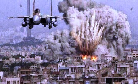 Jalur Gaza Dibombardir Pesawat-pesawat Tempur Israel