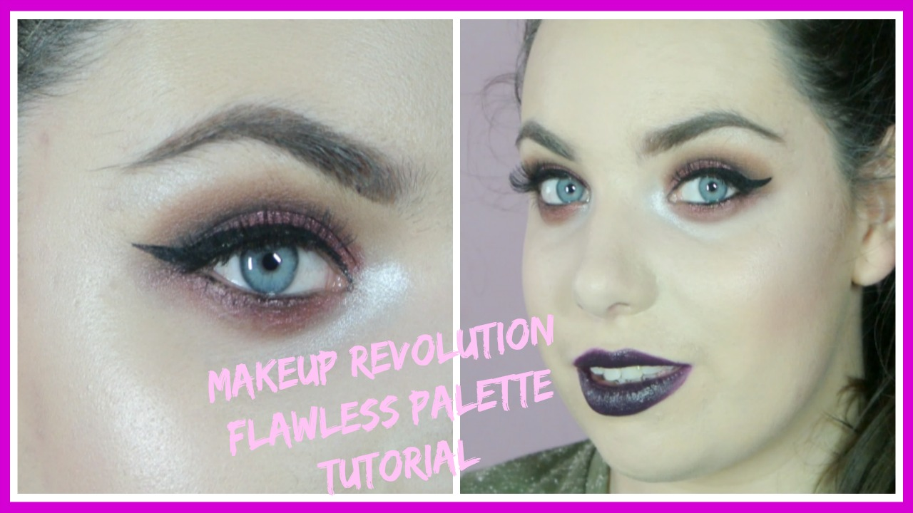 Makeup Revolution Flawless Palette Makeup Tutorial Chasing Ruby Chat