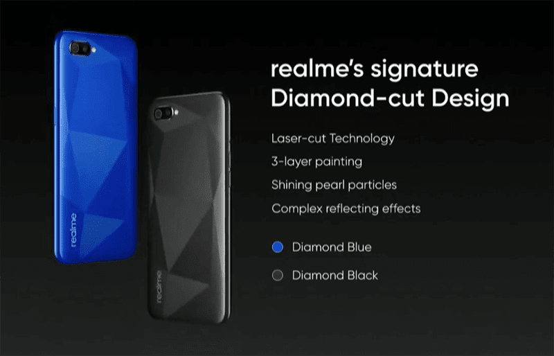 The new Diamond-cut design