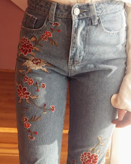 Mom Jeans z chińskiej strony z metką znanej sieciówki !