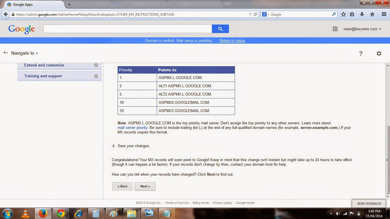 Pic-9(u) Setting up your Business email with Gmail