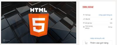Share khóa học : Học lập trình HTML5 từ đầu
