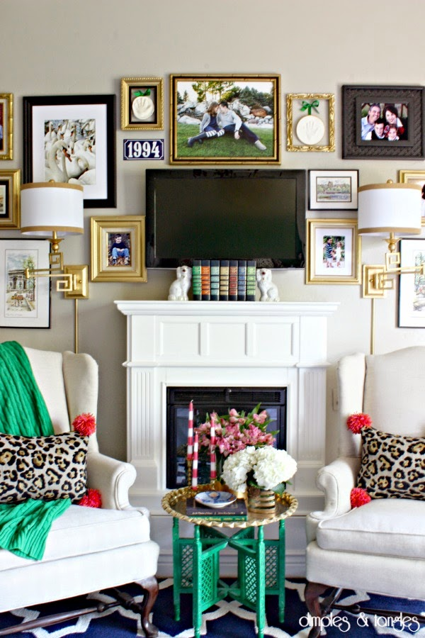 How To Decorate Around A TV {An Option For Every Style