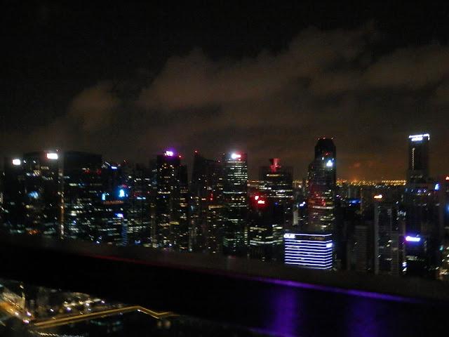 vue du Marina Bay Sands
