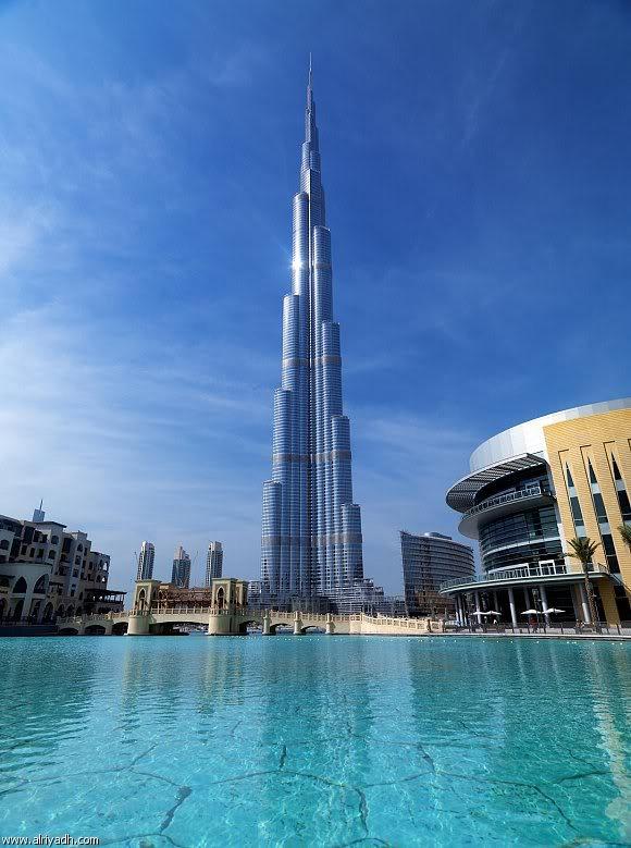 صور رائعة لبرج خليفة Khalifa في دبي   أحد أطوال أبراج العالم