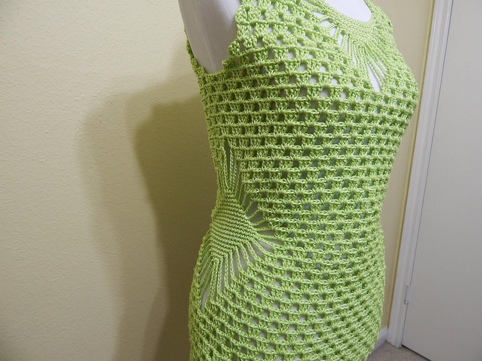 Blusa Verde Limon A Crochet Paso A Paso Con Video Tutorial
