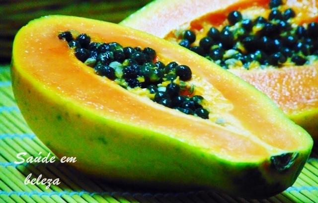 Benéficos da papaia ou mamão na saúde
