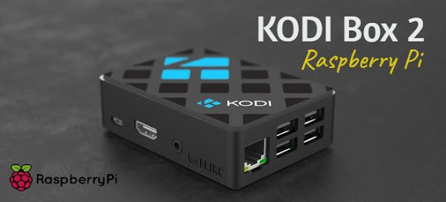 Kodi Box 2 para Raspberry Pi