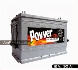 povver akü ağır hizmet serisi 12 volt 50 amper