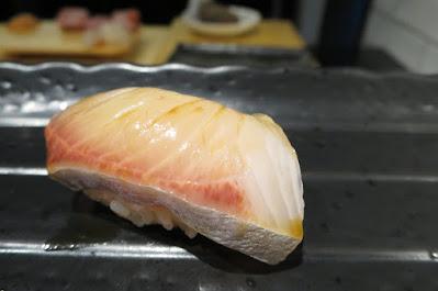 Ryo Sushi, kanpachi shoyu