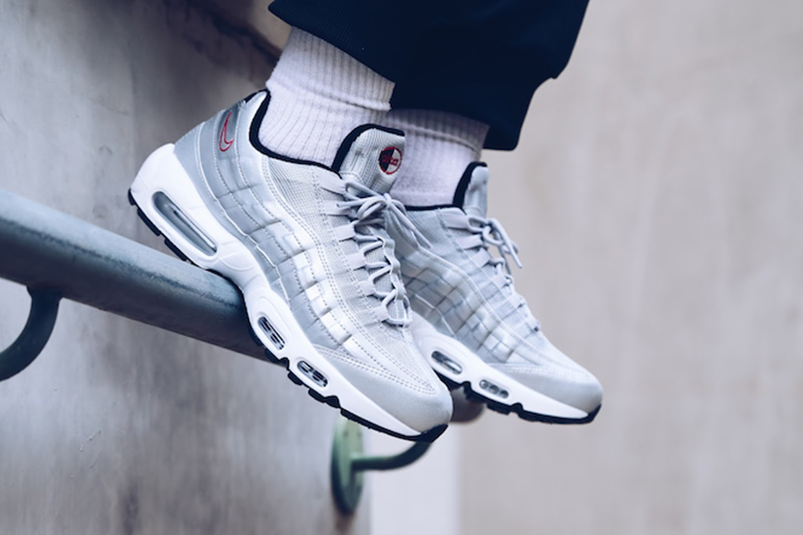 acheter populaire 1a0b5 16600 Swag Craze: First Look: Nike Air Max 95 - The Silver Bullet