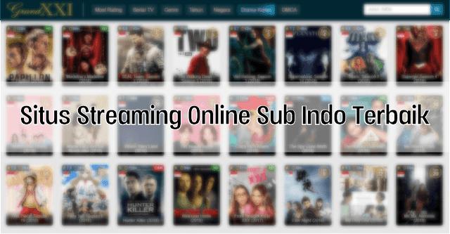 5 Situs Streaming Film Online Sub Indonesia Gratis 2020