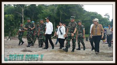 Jokowi, Pencapaian Presiden Jokowi, Presiden, berbatasan dengan Filipina, Bandara Miagas, Berita Bebas, Berita Terbaru,