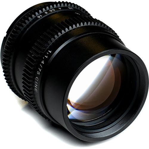 SLR Magic Cine 75mm f/1.4 FE