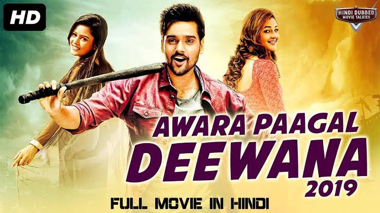AWARA PAAGAL DEEWANA (2019) Hindi Dubbed 450MB HDRip 480p Free Download