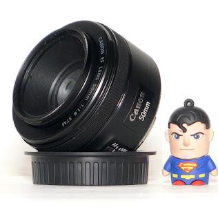 Lensa Fix Canon 50mm f/1.8 STM Second