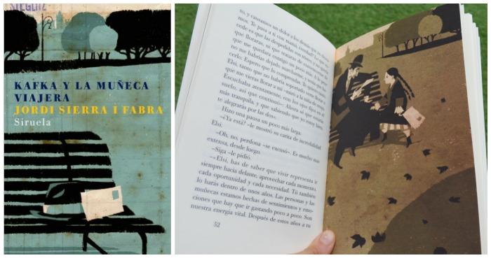 libro infantil y juvenil: kafka y la muñeca viajera de jordi sierra i fabra