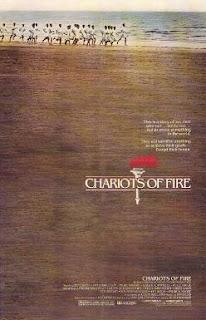 Cartel de la película Carros de fuego (Chariots of Fire) de 1981 dirigida por Hugh Hudson