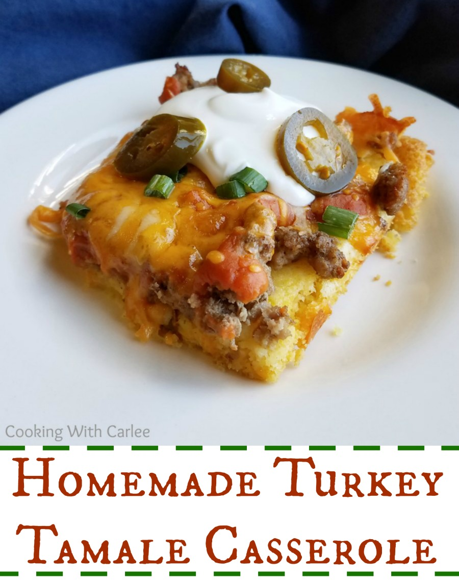 Cooking with carlee homemade turkey tamale casserole created using the recipes generator forumfinder Images