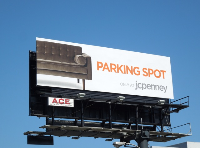 Phenomenal Daily Billboard The Perfect Parking Spot J C Penney Sofa Home Interior And Landscaping Ponolsignezvosmurscom