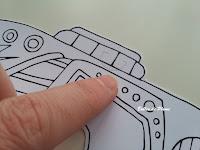 Masques à colorier Colouring Activity Rico Design (Creavea)