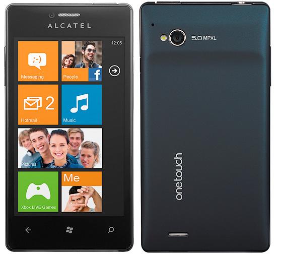 low budget windows smartphone from alcatel alcatel view