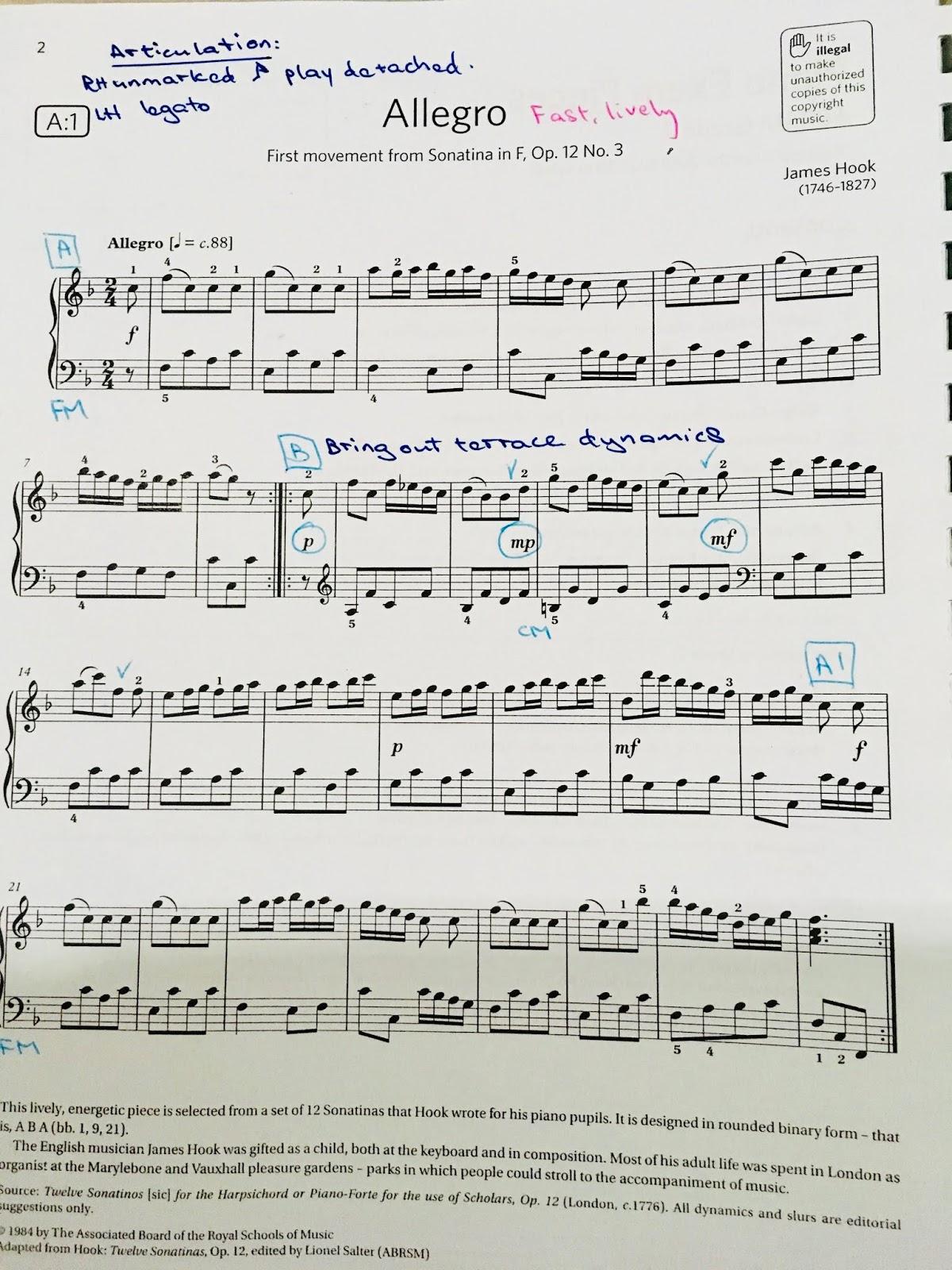 Forte Music Training: DOROTHY'S BLOG