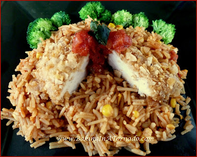 Crusted Spicy Chicken Breasts | www.BakingInATronado.com | #recipe #dinner