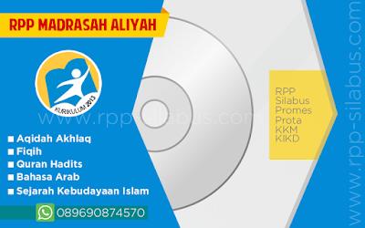RPP Madrasah Aliyah Kurikulum 2013 Revisi 2016