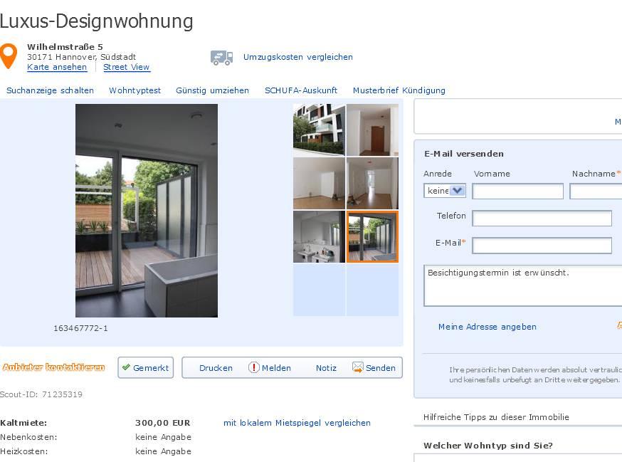 Bis  Zimmer Wohnung In Hannover