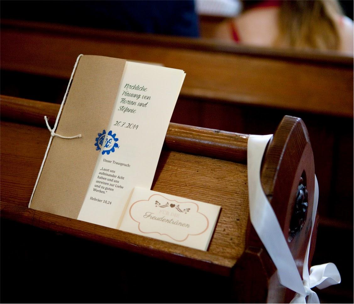 Steffis Hochzeitsblog DIY Kirchenheft  kostenlose Vorlage