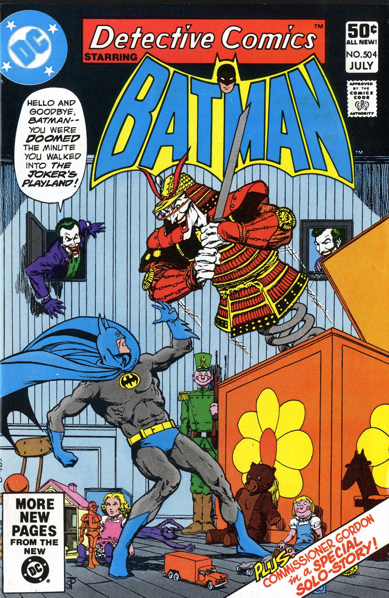 Detective Comics (1937) 504 Page 1