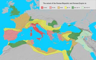 Expansión de la República e Imperio Romano