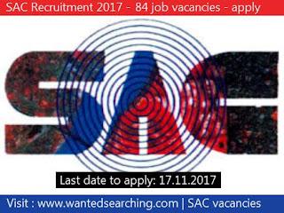 SAC Recruitment 2017