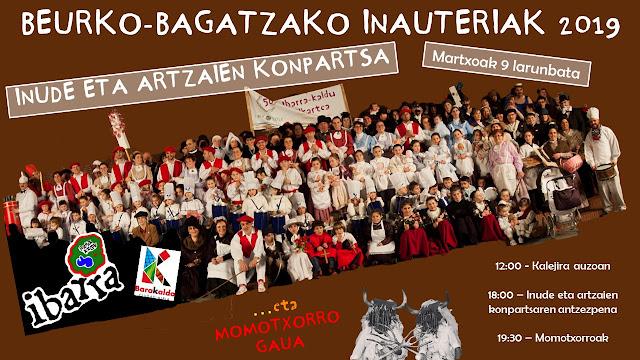 Cartel del carnaval de Ibarra-Kaldu