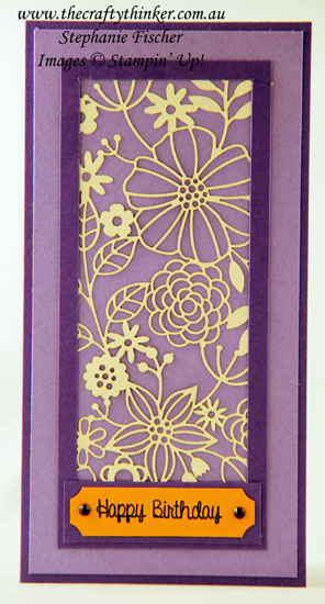 #thecraftythinker  #stampinup  #sneakpeek  #delightfullydetailed  #cardmaking , Sneak peek,  Delightfully Detailed paper, new 2018 colours, Stampin' Up Australia Demonstrator, Stephanie Fischer, Sydney NSW
