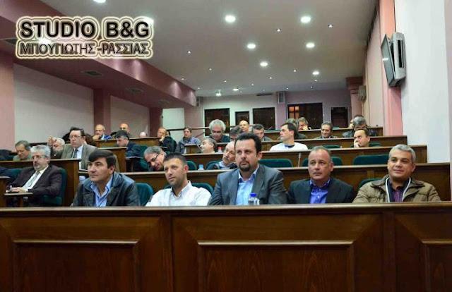 Δημοτικό Συμβούλιο στο Άργος στις 21 Σεπτεμβρίου 2016  με 4 θέματα